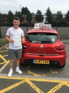 Luke Robb, driving lessons Gloucester.