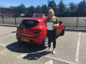 Niamh Smart, driving lessons Gloucester.
