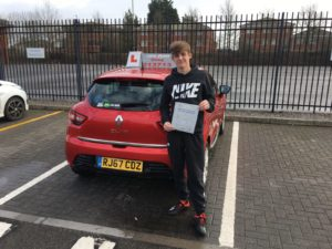 Oliver Griffiths, Driving lessons Gloucester.