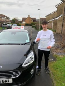 Ed Blackburn pass, driving lessons Gloucester
